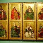 Skrzydła ołtarzowe z przedstawieniami świętych, Mistrz wrocławski, 1470-80 Muzeum Narodowe we Wrocławiu