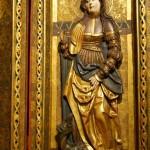 św. Małgorzata, Pentaptyk Matki Boskiej, św. Sewera i św. Doroty, Pracownia Mistrza Lubińskich Ołtarzy, 1523, Muzeum Narodowe we Wrocławiu