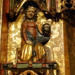 św. Dorota z Tryptyku Koronacji Marii z Pełcznicy, Pracownia śląska, 1370-80, Muzeum Narodowe we Wrocławiu