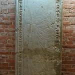 Mauzoleum Piastów Śląskich we Wrocławiu, płyta Jadwigi, córki Henryka II