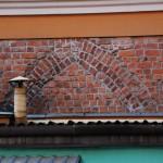 Fragment średniowiecznej kamienicy przy wrocławskim rynku