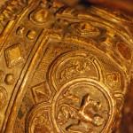 Nagrobek Henryka IV Probusa. Mitra książęca. Muzeum Narodowe we Wrocławiu