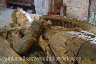 Tumba Henryka VI Dobrego w Mauzoleum Piastów Śląskich we Wrocławiu