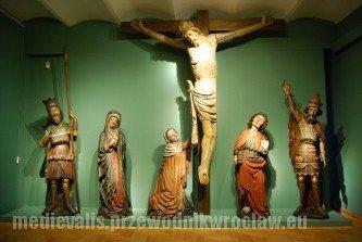 Grupa Ukrzyżowania Tęczowego z kościoła św. Marii Magdaleny we Wrocławiu, XV w., Muzeum Narodowe we Wrocławiu