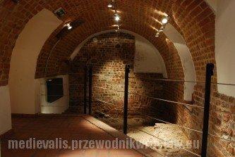 Zamek na Ostrowie Tumskim we Wrocławiu. Szlak piastowski