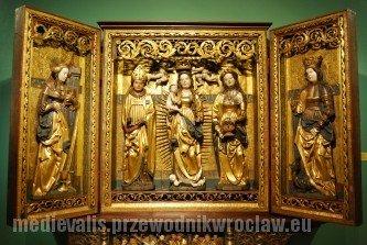 Pentaptyk Matki Boskiej, św. Sewera i św. Doroty, Pracownia Mistrza Lubińskich Ołtarzy, 1523, Muzeum Narodowe we Wrocławiu