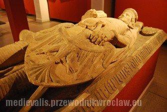 Płyta nagrobna Bolesława III Rozrzutnego, księcia legnicko-brzeskiego, ok. 1352, Muzeum Narodowe we Wrocławiu