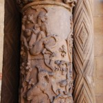Katedra św. Jana Chrzciciela we Wrocławiu, kolumny romańskie