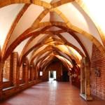 Krużganki dawnego klasztoru bernardynów , obecnie Muzeum Architektury we Wrocławiu