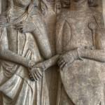 Płyta nagrobna Henryka I Jaworskiego i jego żony Agnieszki