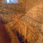 Wnętrze wieży w Siedlęcinie