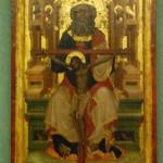 Tron Łaski ze Świerzawy, Pracownia Mistrza Zaśnięcia Marii z Košatek, przed 1350 r., Muzeum Narodowe we Wrocławiu