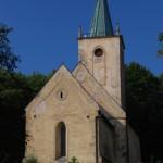 kościół św. Piotra i Pawła w Lubiechowej