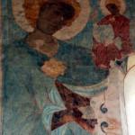Polichromie w Lubiechowej, św. Krzysztof