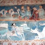 Pokłon Trzech Króli, św. Jerzy zabijający smoka, Lubiechowa