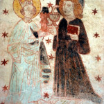 kościół św. Piotra i Pawła w Lubiechowej, polichromie