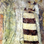 Wieża w Siedlęcinie, Lancelot z Ginewrą