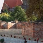 Ostrów Tumski, przypory zamku książęcego