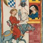Pan von Seven, Kodeks Manesse, UB Heidelberg, Cod. Pal. germ. 848, fol. 164v