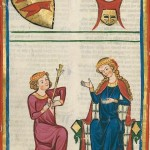 Endilhard von Adelnburg, Kodeks Manesse, UB Heidelberg, Cod. Pal. germ. 848, fol. 181v