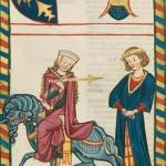 Wachsmut von Mülhausen, Kodeks Manesse, UB Heidelberg, Cod. Pal. germ. 848, fol. 183v