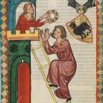 Kraft von Toggenburg, Kodeks Manesse, UB Heidelberg, Cod. Pal. germ. 848, fol. 22v