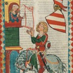 Konrad von Kirchberg, Kodeks Manesse, UB Heidelberg, Cod. Pal. germ. 848, fol. 24r