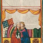 Hugon von Werbenwag, Kodeks Manesse, UB Heidelberg, Cod. Pal. germ. 848, fol. 252r