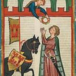 Rudolf von Rotenburg, Kodeks Manesse, UB Heidelberg, Cod. Pal. germ. 848, fol. 54r