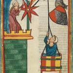 Kristan von Hamle, Kodeks Manesse, UB Heidelberg, Cod. Pal. germ. 848, fol. 71v