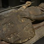 Pomnik nagrobny Henryka II Pobożnego, Muzeum Narodowe we Wrocławiu, lapidariu