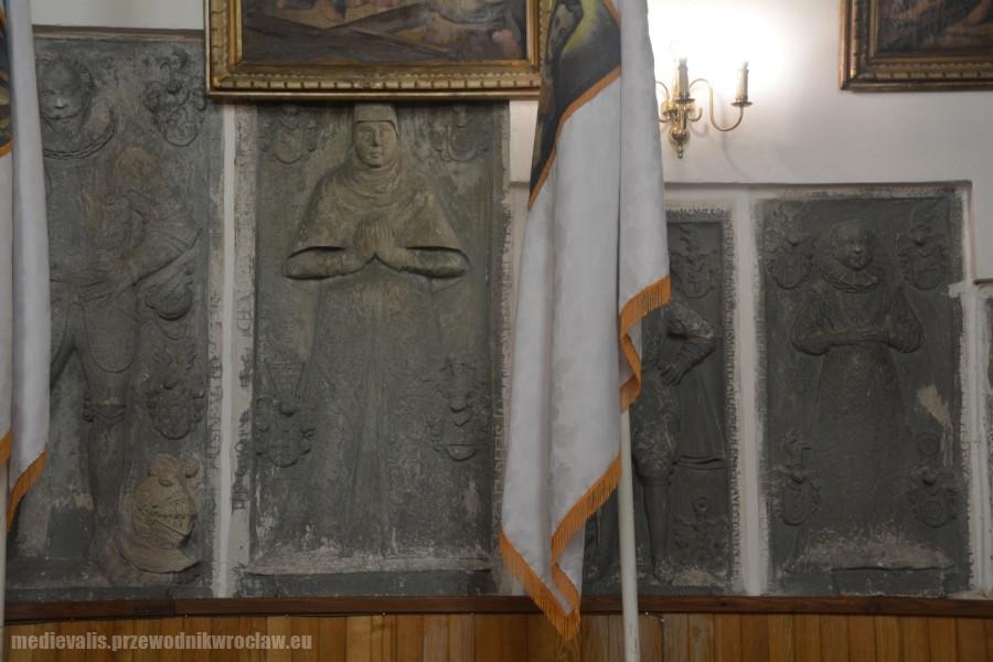 Borzygniew, epitafium rodziny von Schindel: Bernard zm. 1598, Margarethe z d. von Schweinichen zm. 1605, Georg zm. 1598, Margaretha zm. 1592