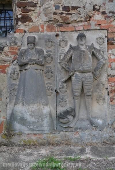 Rycerz von Wunsch z żoną Hedwig von z d. von Glaubitz