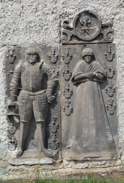 Rycerz von Glaubitz z żoną Anną z d. von Neunrubin