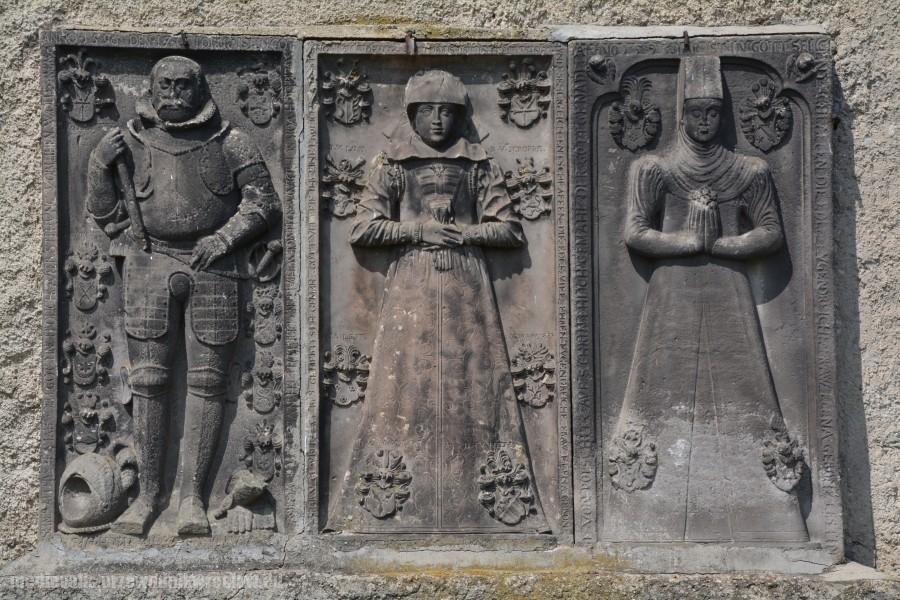 Rycerz von Porschütz, Elena von Glabitz z d. von Tschammer, Anna von Popschütz z d. von Lest