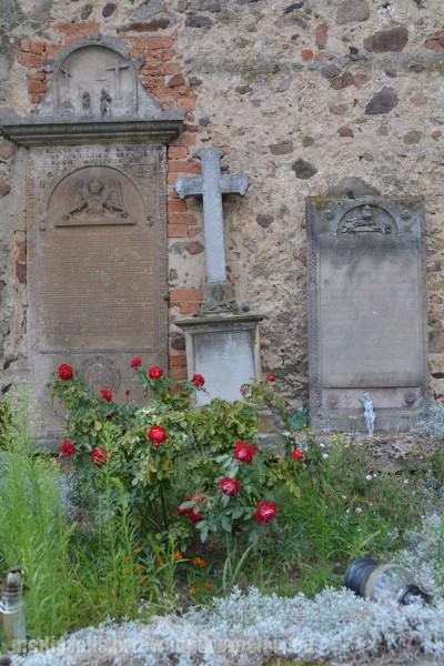 Pomniki pastora Zachariasza, ks. Antoniego Liszke i ks. Friedricha Geigera